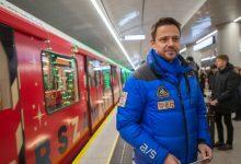 Photo of Świąteczne metro ruszyło