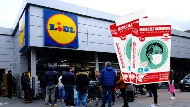 Photo of Lidl też będzie sprzedawać maseczki. Za 4 złote i wyprodukuje je Adrian Fabryka Rajstop.