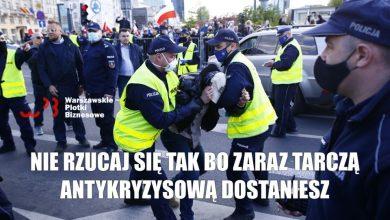 Photo of Warszawa: Strajk Przedsiębiorców spacyfikowany przez policję! Kandydat na prezydenta zatrzymany!