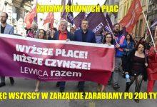 Photo of PORANNE PLOTKI BIZNESOWE: Partia Razem walczy z biedą! Za 7 miesięcy pracy w jej zarządzie można zarobić 200 000 zł