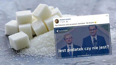 Photo of Wiceminister finansów: Podatek cukrowy nie jest podatkiem! Stowarzyszenie Niskie Składki: Jest.