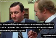 Photo of PORANNE PLOTKI BIZNESOWE: Kaczyński wicepremierem – zastępca premiera, który będzie rządził… premierem