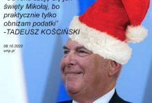 Photo of Poranne Plotki Biznesowe: Okazało się, że w rządzie mamy Mikołaja. Siedzi i myśli, jakie tu obniżyć podatki