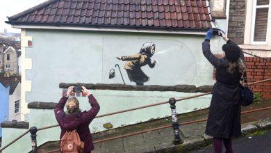 Photo of Banksy namalował w nocy mural na budynku. Właścicielka została milionerką!