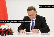 Photo of Poranne Plotki Biznesowe: Prezydent podpisał, niedziela będzie handlowa