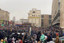 """Photo of Masowe protesty w Rosji po zatrzymaniu Nawalnego! """"Nie odejdziemy!"""""""