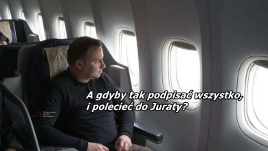 """Photo of Prywatne loty Dudy kosztowały nas 700 tysięcy złotych! """"Tak odreagowuje tydzień"""""""