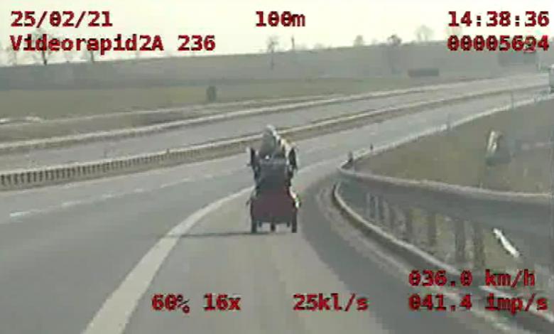 Photo of Pościg na S5 za wózkiem inwalidzkim