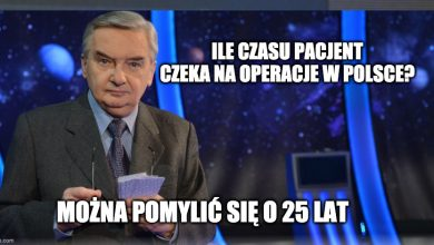 """Photo of """"1 z 10"""" znika z TVP? Tadeusz Sznuk przekazał smutną wiadomość"""