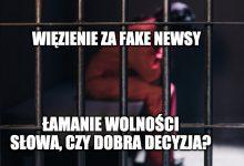Photo of Więzienie za fake newsy o pandemii! Oskarżonym grozi nawet 7 lat pozbawienia wolności