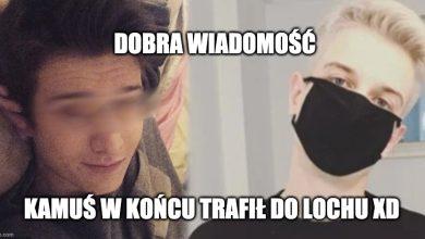 """Photo of Youtuber """"Kamerzysta"""" trafił do aresztu. Łukasz W. oficjalnie oskarżony"""