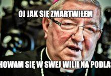 Photo of Warszawa: Arcybiskup Leszek Głódź utracił tytuł honorowego obywatela miasta!