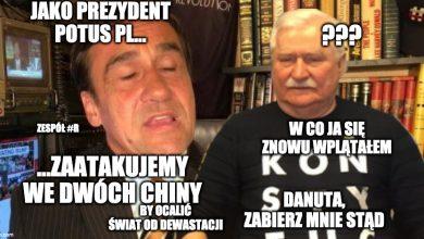 Photo of Patoprezydent Max Kolonko sprzymierzył się z Lechem Wałęsą xD