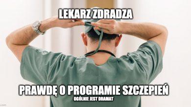 Photo of Polski lekarz nie wytrzymał. Zdradził szokującą prawdę o systemie szczepień wg PiS