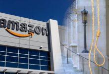 Photo of Amazon zamyka plac budowy w USA przez… pętlę wisielca