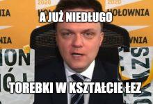 Photo of Szymon Hołownia sprzedaje torebki zrobione z banerów wyborczych