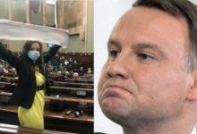 Photo of Klaudia Jachira w ogniu krytyki wyborców PiS za atak na Andrzeja Dudę