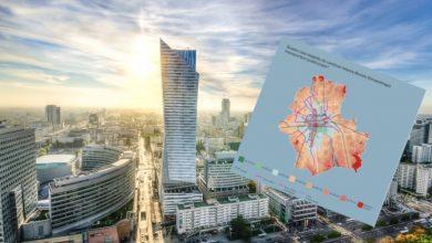 Photo of Warszawa: Dzięki tej mapie dowiesz się, gdzie najlepiej mieszkać