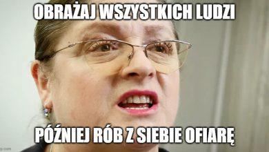 Photo of Krystyna Pawłowicz obraża ludzi, a potem płacze, kiedy ją krytykują