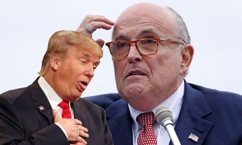 Rudy Giuliani, Prawnik Donalda Trumpa