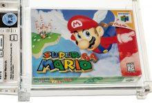 Photo of Gra Super Mario 64 sprzedana na aukcji za 1,5 miliona dolarów!