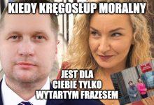 Photo of Fikołek roku? Monika Pawłowska banuje za fotkę z ministrem Czarnkiem