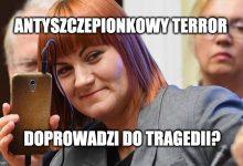 Photo of Antyszczepionkowcy w Poznaniu udowodnili, że są lokalnymi terrorystami