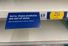 Photo of Brexit: Puste półki w sklepach i opóźnienie kontroli towarów z UE
