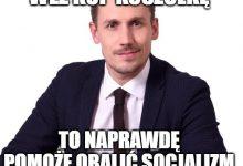 Photo of Chcesz obalić socjalizm? Kup skarpetki Berkowicza