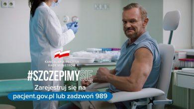 Photo of Spot kampanii #SzczepimySię z Cezarym Pazurą kosztował krocie!