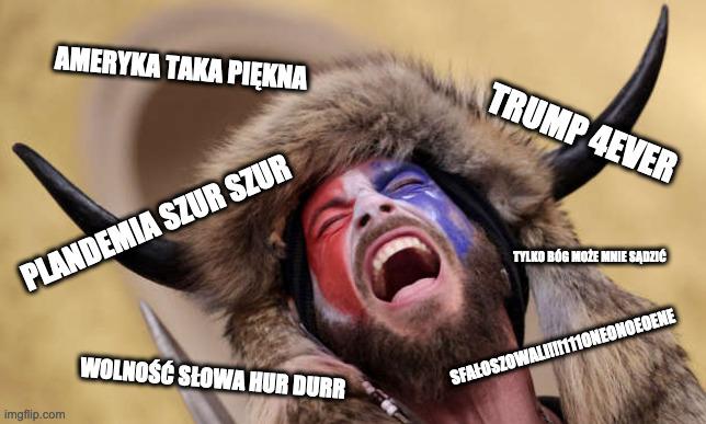 atak na kapitol memy