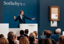Photo of Zniszczony obraz Banksy'ego sprzedany za rekordowe 16 milionów funtów