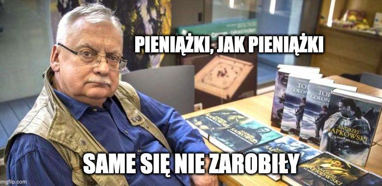 Ile zarabia Andrzej Sapkowski?